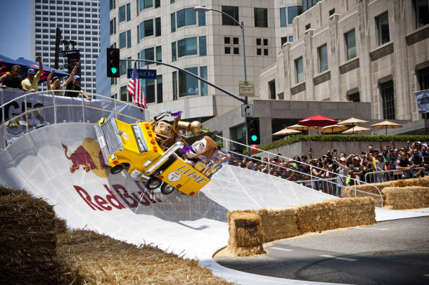 Red Bull Soap Box Los Angeles Ca 183 Scs Wraps