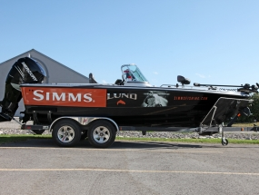 Simms Lund Boat Wrap