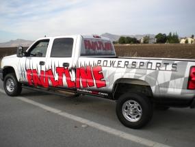 Driver side Faultline truck