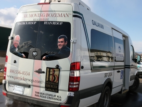Bozeman Broker Group Galavan wrap