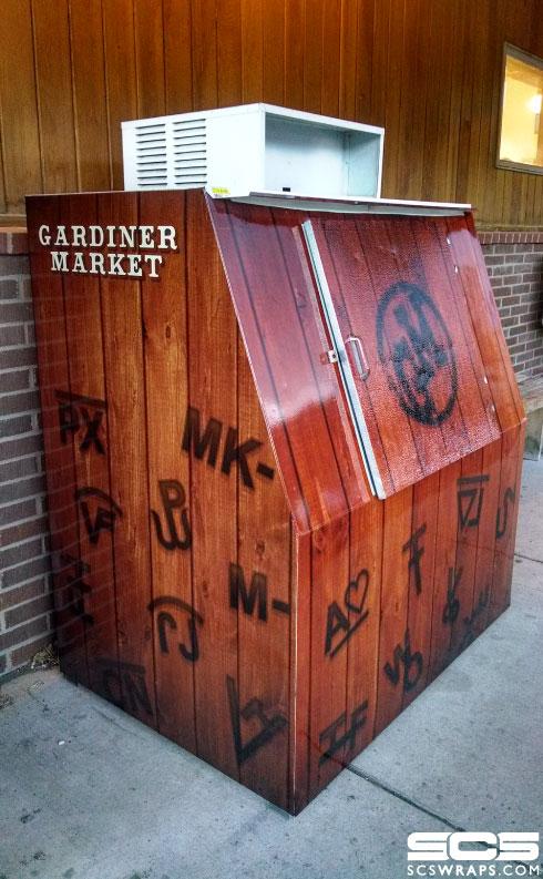 Gardiner Market Ice Box Wraps Scs Wraps Signs Concepts