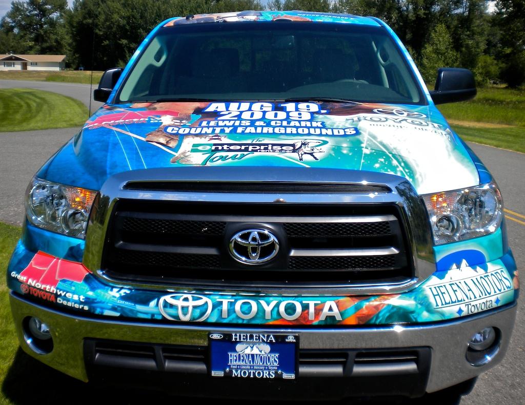 Helena Toyota Tundra Wrap Scs Wraps