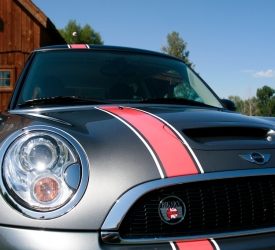 Mini Cooper Racing Graphics 183 Scs Wraps