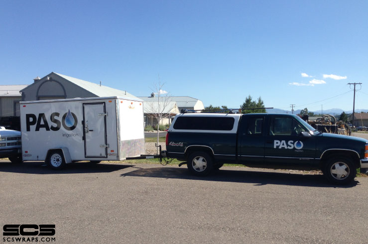 Paso Irrigation Fleet Decals Scs Wraps Signs Concepts