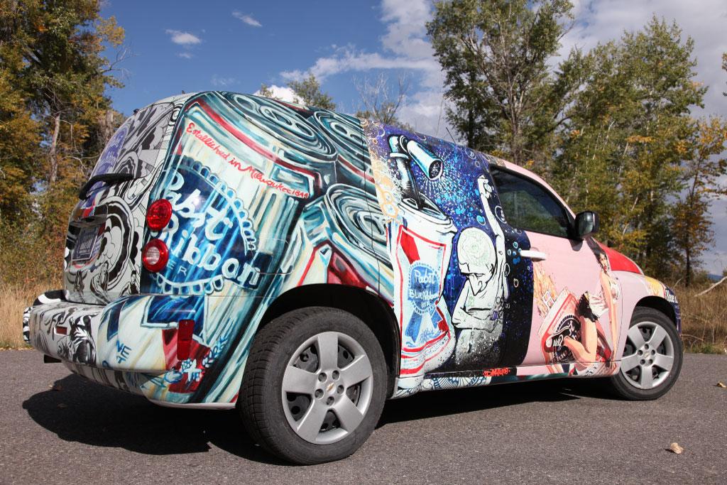 Chevrolet Car Wrap - PBR Theme · LET'S WRAP...