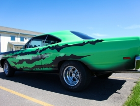 Plymouth satellite Wrap -5