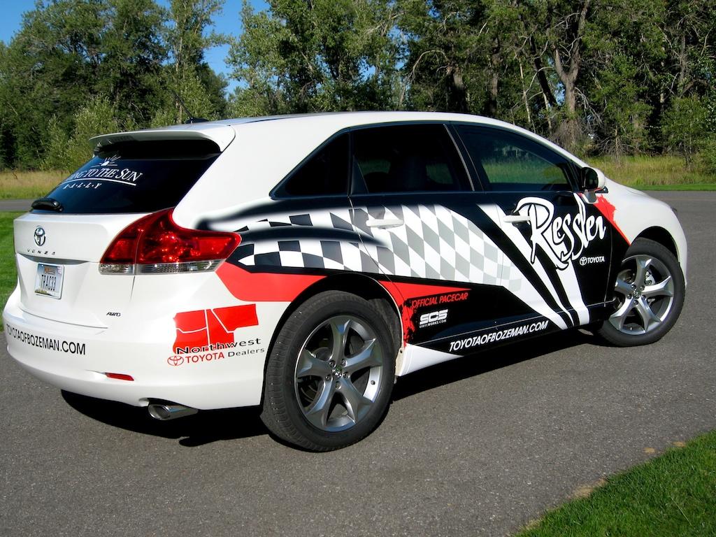 Toyota Venza Car Wrap 183 Scs Wraps