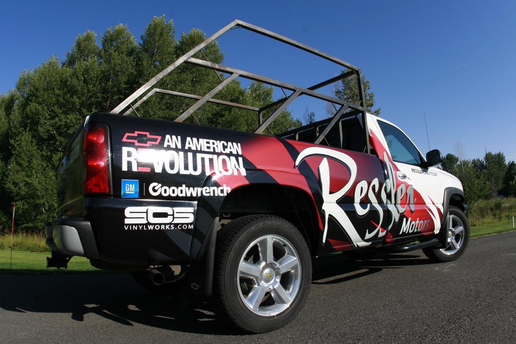 Ressler Pickup Truck Wrap 183 Let S Wrap