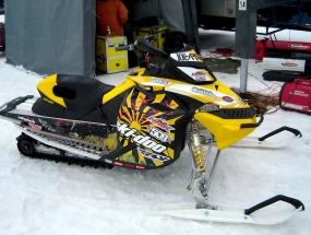 Joe Parsons Custom Snowmobile Graphics