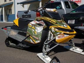 Ski-Doo Rev XP Rocking the Totem Wrap