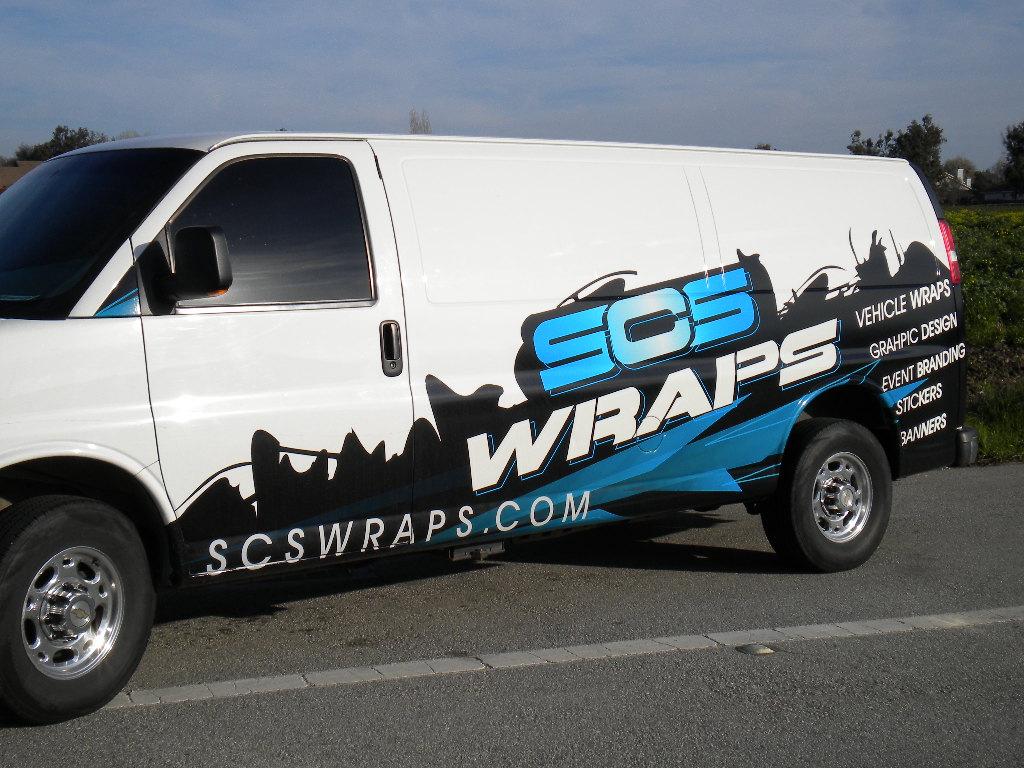 Scs Fleet Van Wrap