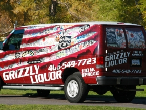 Grizzly Liqour Van Wrap