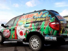 Kiss FM Van Wrap
