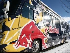 Red Bull Motor Home