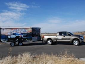 Ressler Motors trailer wrap