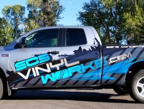 SCS Fleet Truck Wrap