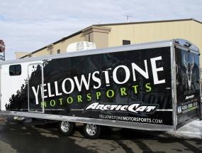 Yellowstone Motorsports Trailer Wrap