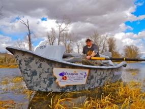 Drift Boat Digital Camo