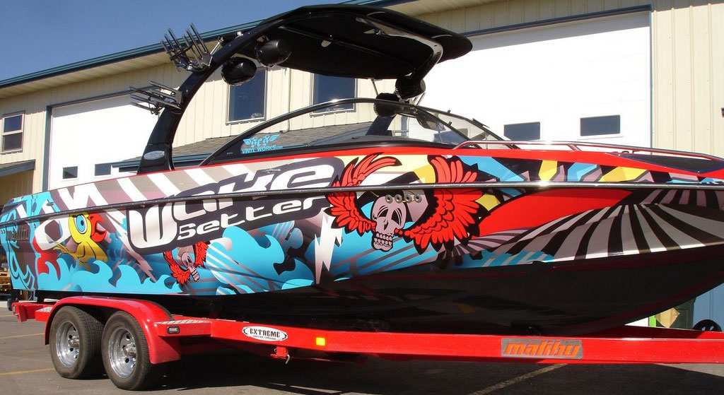 Full Wakeboard Wakesetter Boat Wrap 183 Scs Wraps