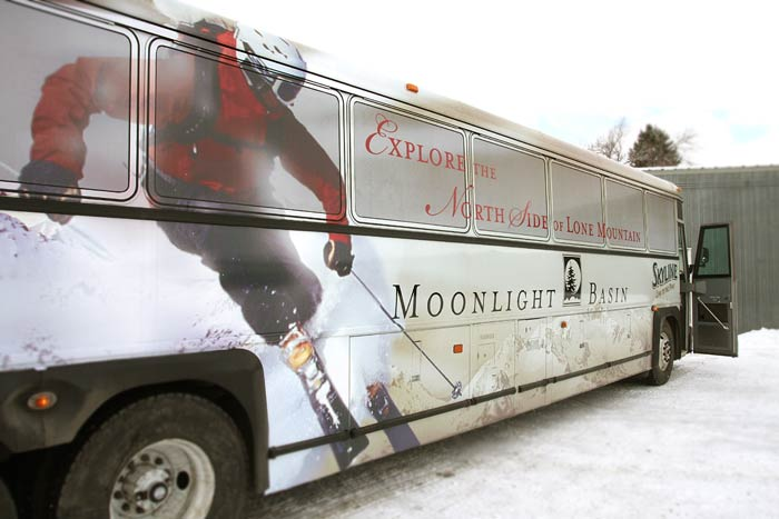 Moonlight Basin full bus wrap