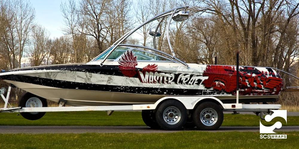 Custom Scs Mastercraft Boat Wrap 183 Scs Wraps