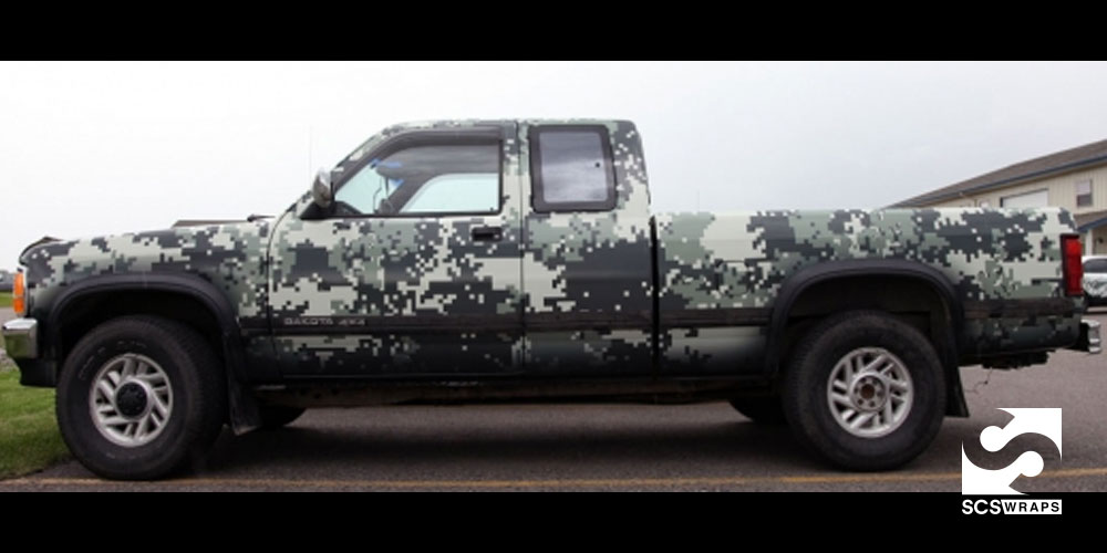 Custom Digital Camo Wrap 183 Scs Wraps