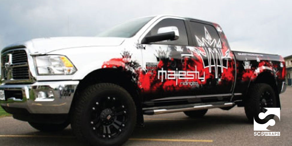 Majestic Truck Wrap For Majesty Riding 183 Scs Wraps