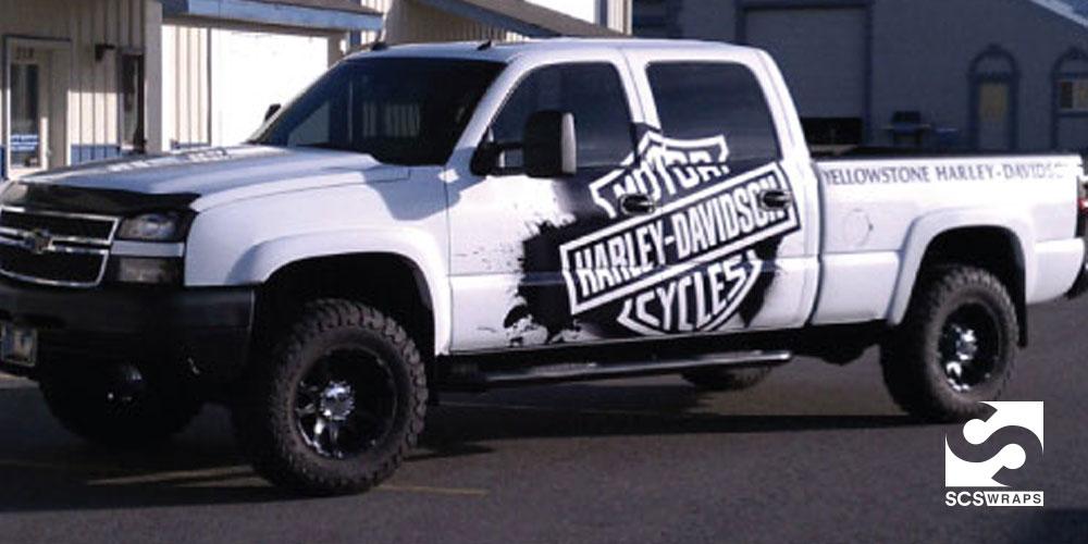 Yellowstone Harley Davidson Truck 183 Scs Wraps