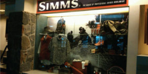 Simms Airport Display