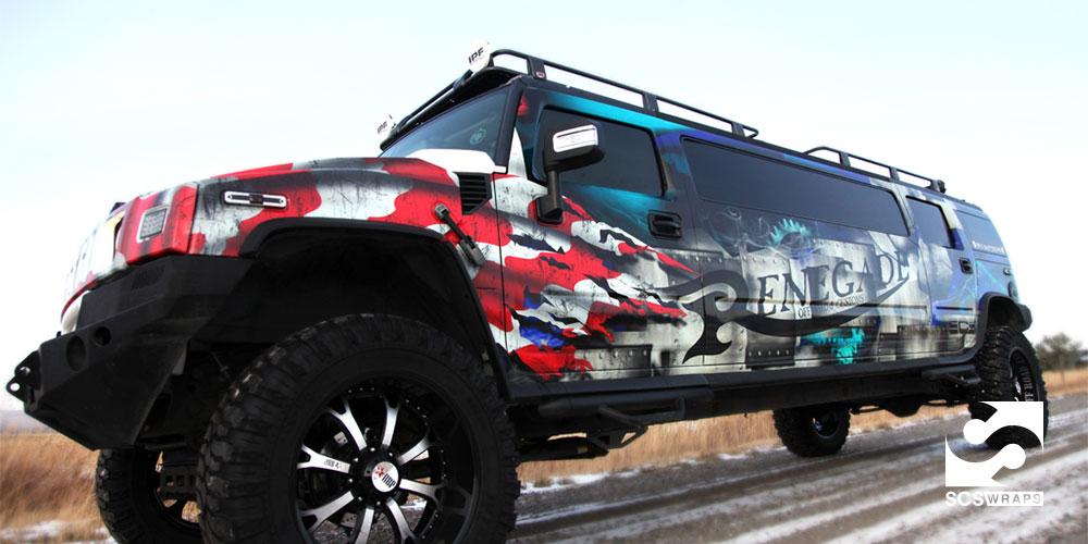 Hummer Vehicle Wrap SCS Wraps