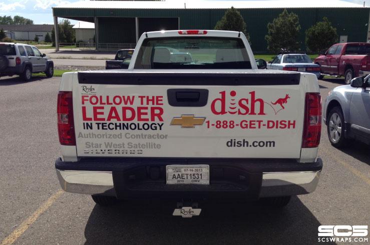 Dish Network Fleet Graphics 183 Scs Wraps
