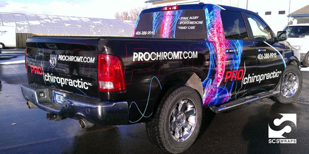 Pro Chiropractic Vehicle Wrap 183 Scs Wraps