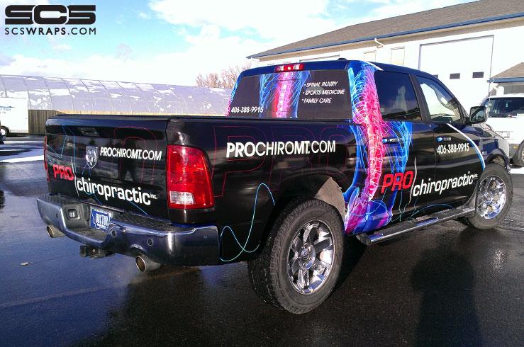 Pickup Truck Wrap 183 Scs Wraps