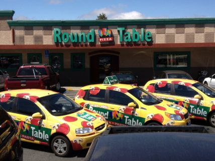 Round Table Pizza Hollister Ca 183 Scs Wraps