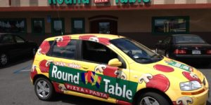 Round Table Pizza - Fleet Delivery Wrap