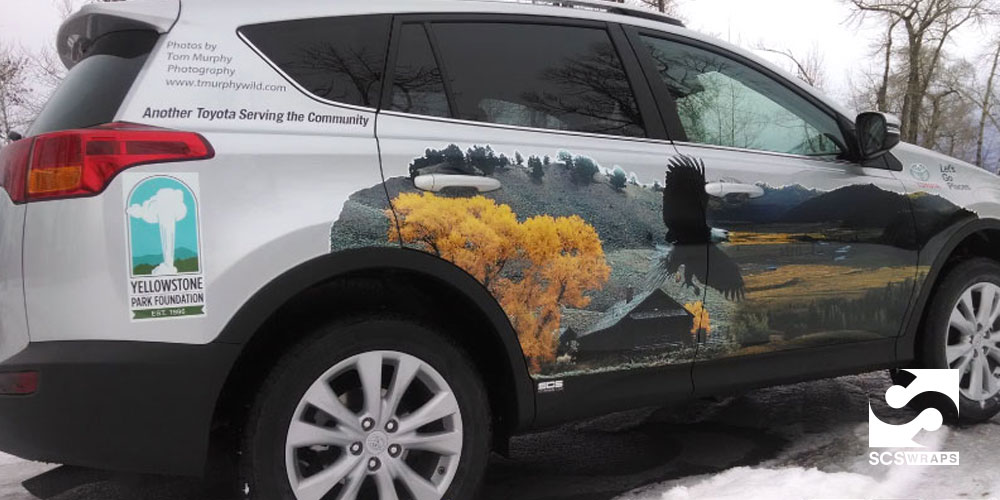 Yellowstone Park Foundation Rav 4 Vehicle Wrap 183 Scs Wraps