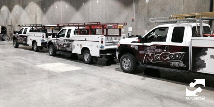 Mccody Fleet Truck Wraps Williston Nd 183 Scs Wraps