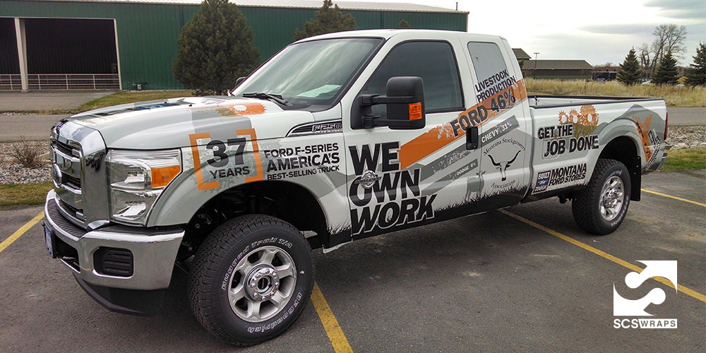 Ford Vehicle Wrap Scs Wraps
