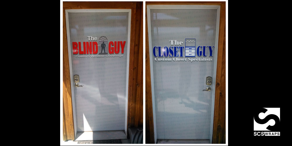 Etonnant Door Wraps For Any Application U2013 The Blind Guy