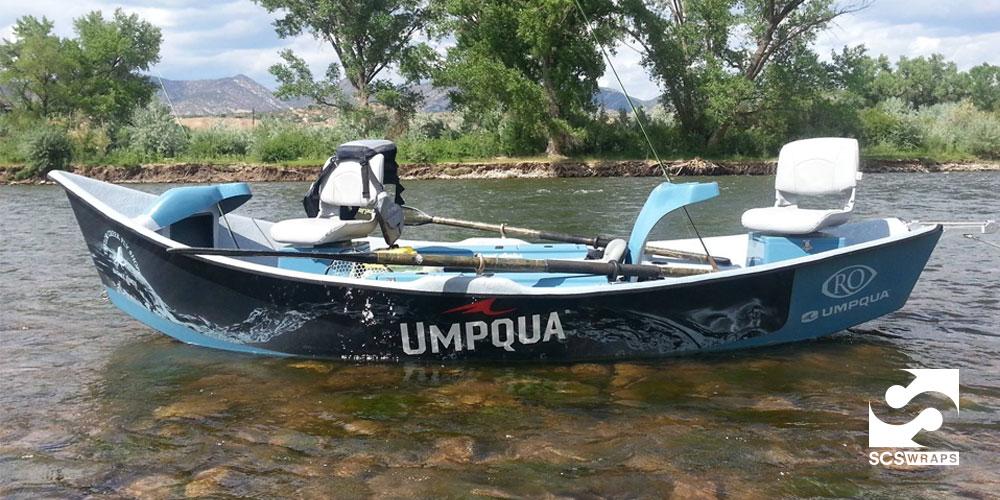Umpqua Boat Wrap 183 Scs Wraps