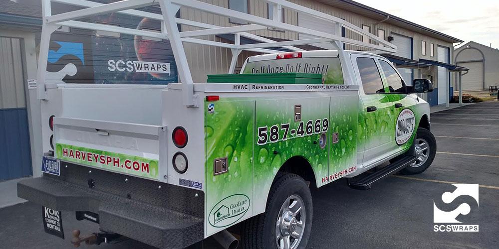 Harvey S Plumbing Truck Wrap 183 Scs Wraps