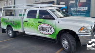 Harveys Plumbing Truck Wrap