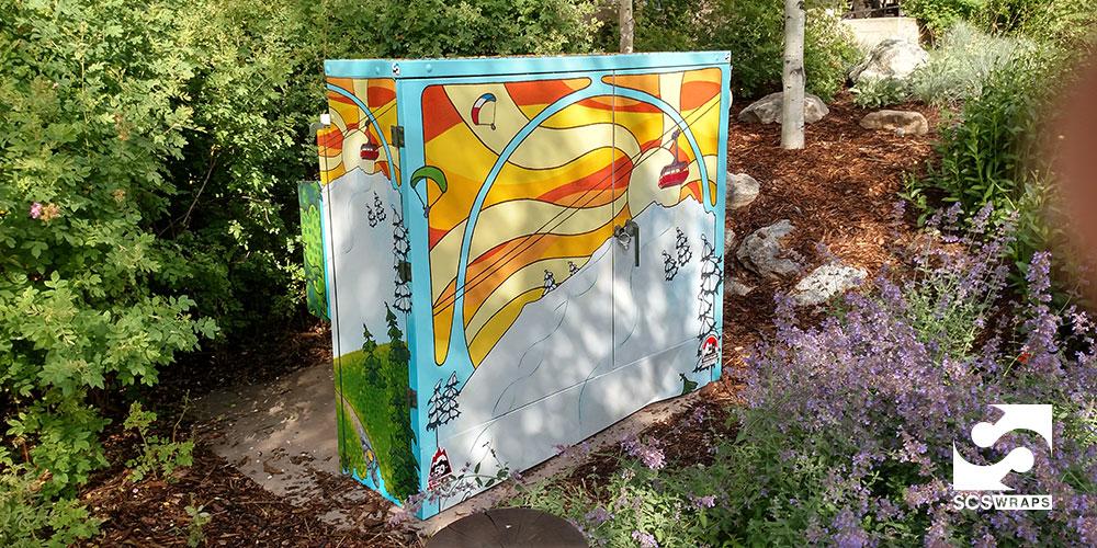 Jackson Hole Utility Box Wraps 183 Scs Wraps