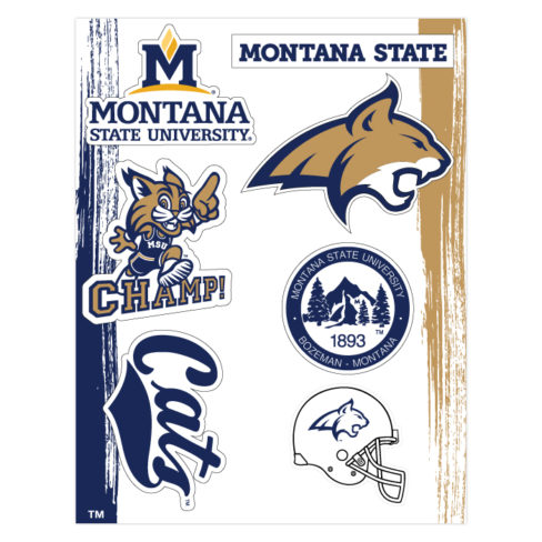 Montana State University Sticker Pack