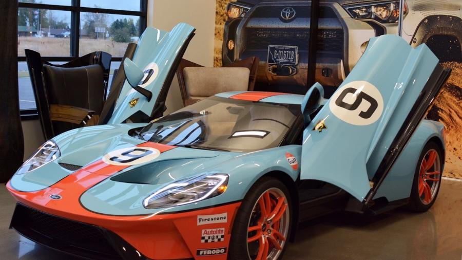 Ford GT Gulf Livery