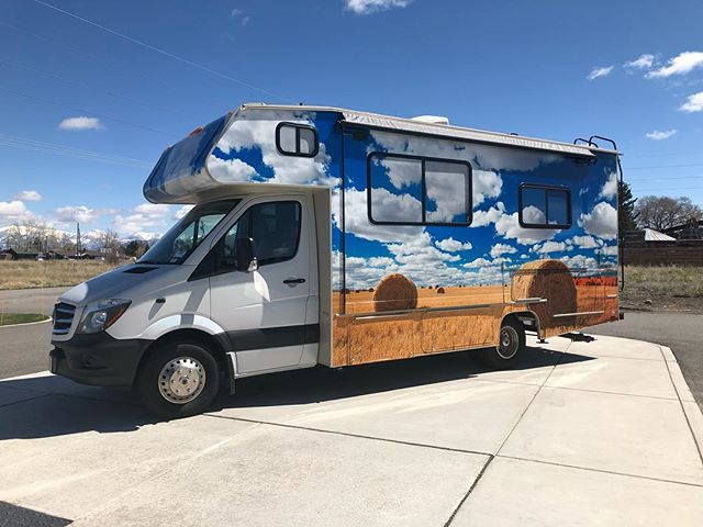 Mobile medical clinic - scenery RV wrap · LET'S WRAP