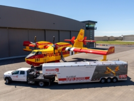 CL-415EAF and Support Trailer