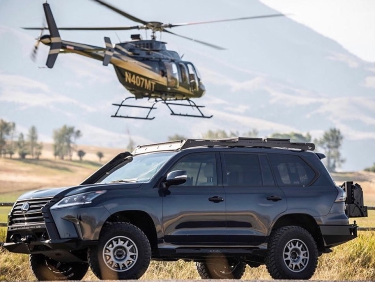 @xoverland and @lexususa on the J201 project