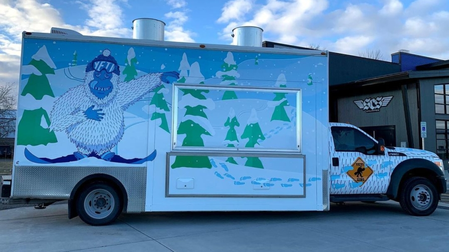 Yeti Box Truck Wrap